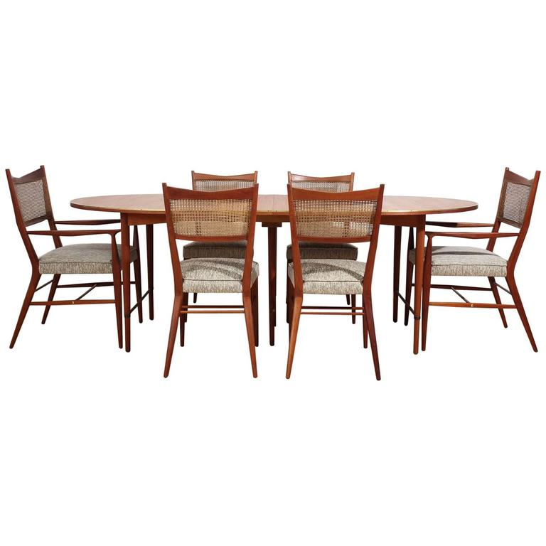 "Paul McCobb ""Connoisseur"" Dining Table and Chairs Set For"