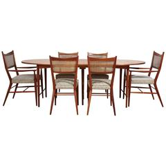"Paul McCobb ""Connoisseur"" Dining Table and Chairs Set"