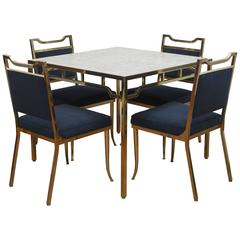 William 'Billy' Haines Brass Table Set