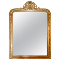 Louis Philippe Period Gilded Mirror