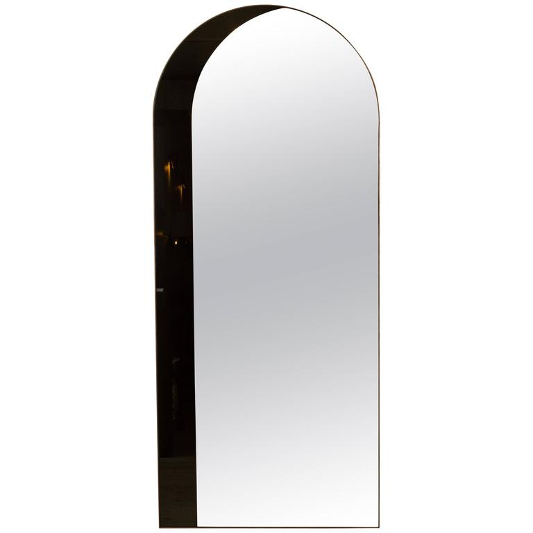 Arch Floor Mirror by Bower For Sale