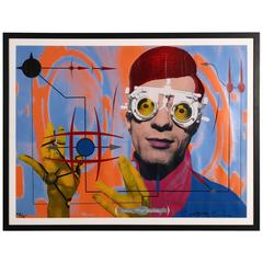 MARK MOTHERSBAUGH, DEVO Limited Edition Silkscreen by Castillo / Evans
