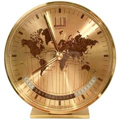 Alfred Dunhill  Art Deco World Clock by Kienzle, Germany