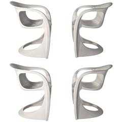 Alexander Begge for Casala Set of Four Casalino Chairs