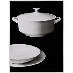 Willi Moegle Still Live Silver Gelatin Print Dining Service
