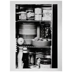 Willi Moegle Still Live Silver Gelatin Print Stacking Porcelain, Gerald Gulotta