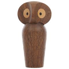 Owl in Smoked Oak by Paul Anker Hansen, New Edition