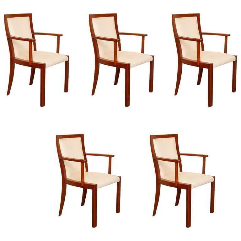 Art Deco Elbow Chairs