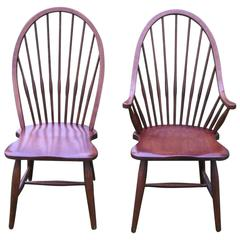 High Back Windsor Chairs