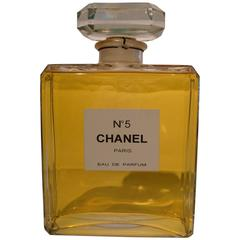 Chanel N5 Huge Store Perfume Bottle Advertising, France