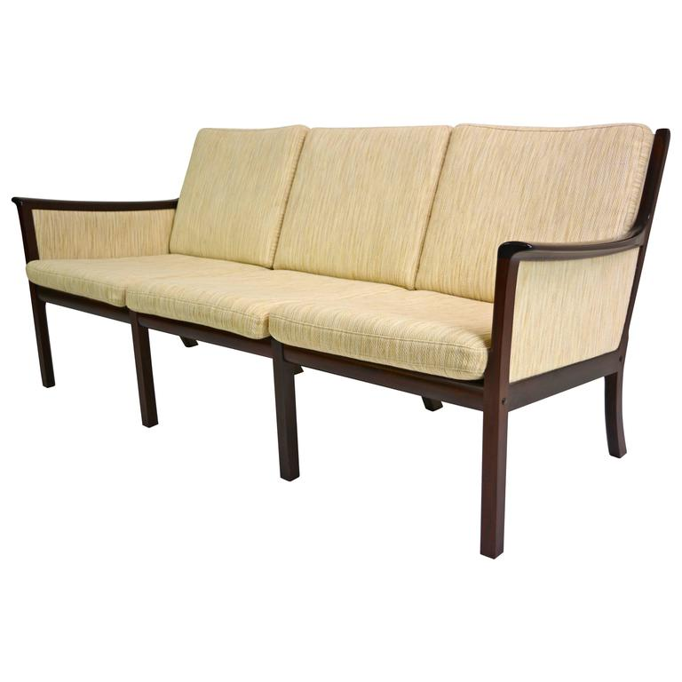 Sofa by Ole Wanscher for Poul Jeppesen