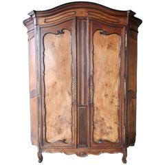 19th Century French Walnut Cabinere