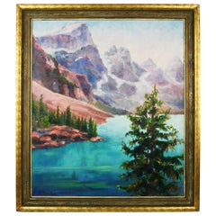 Pacific Northwest Landscape Painting by C.Bruder
