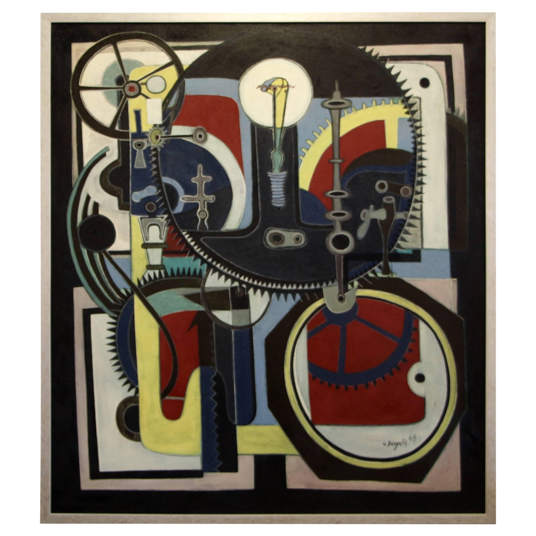 George Dergalis 1964 Painting