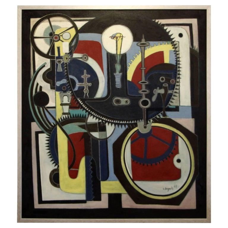 George Dergalis 1964 Painting For Sale