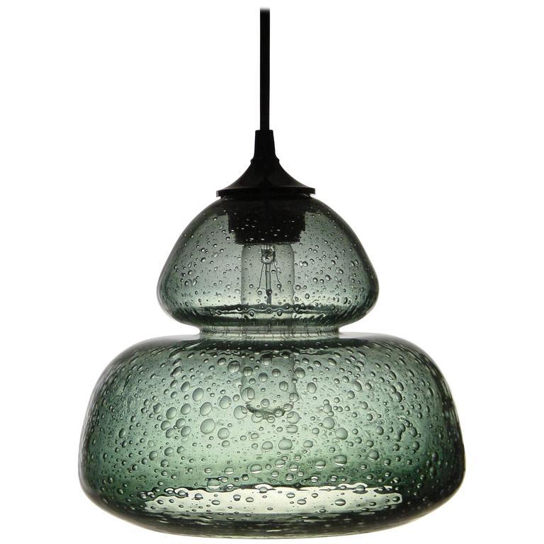 Groove Series Socket Pendant, Modern Handmade Glass Lighting - In Stock