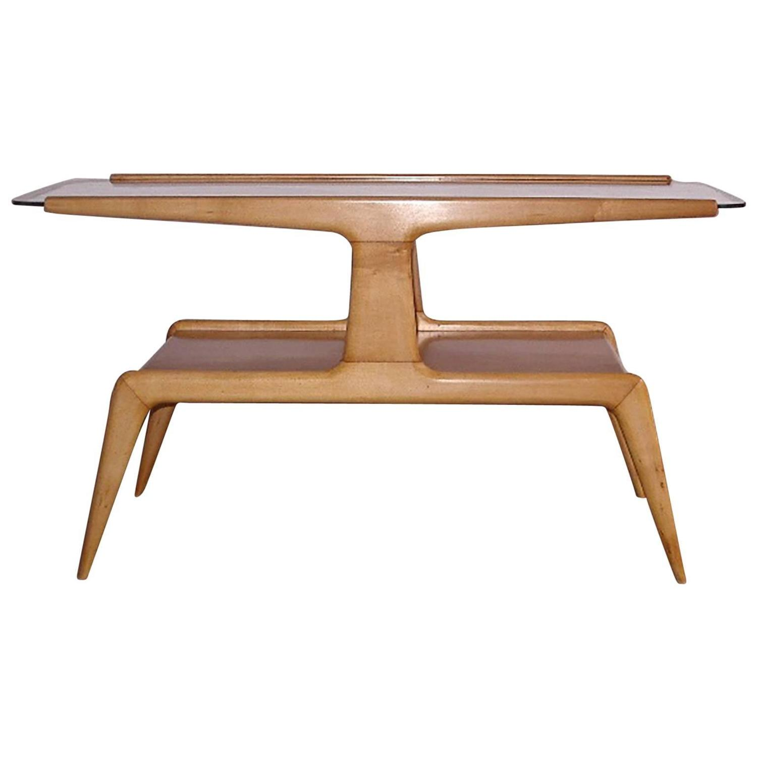 Italian Fine Coffee Table Attributed to Gio Ponti for Domus Nova