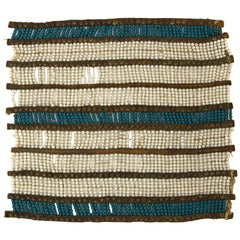 Rare Classic Period Native American Pony Beaded Breastplate, Ute, 1850-1875