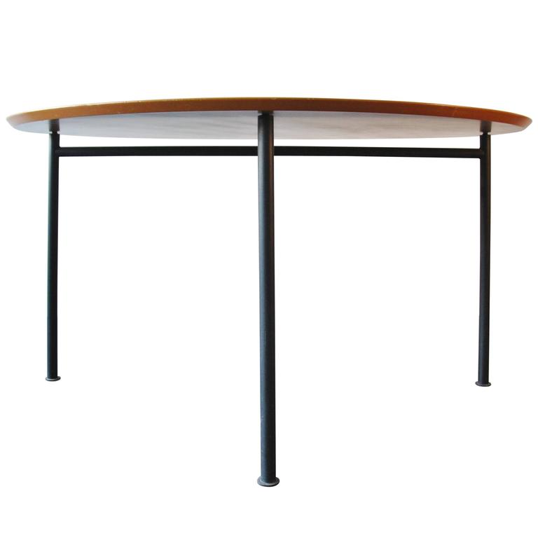 Rare 39 nina freed 39 dining table by philippe starck 1983 at for Philippe starck dining tables