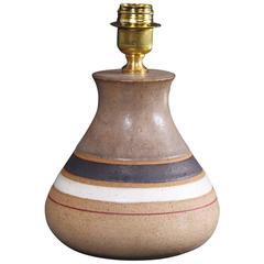 Bruno Gambone, Ceramic Lamp, Production Bruno Gambone, Italy