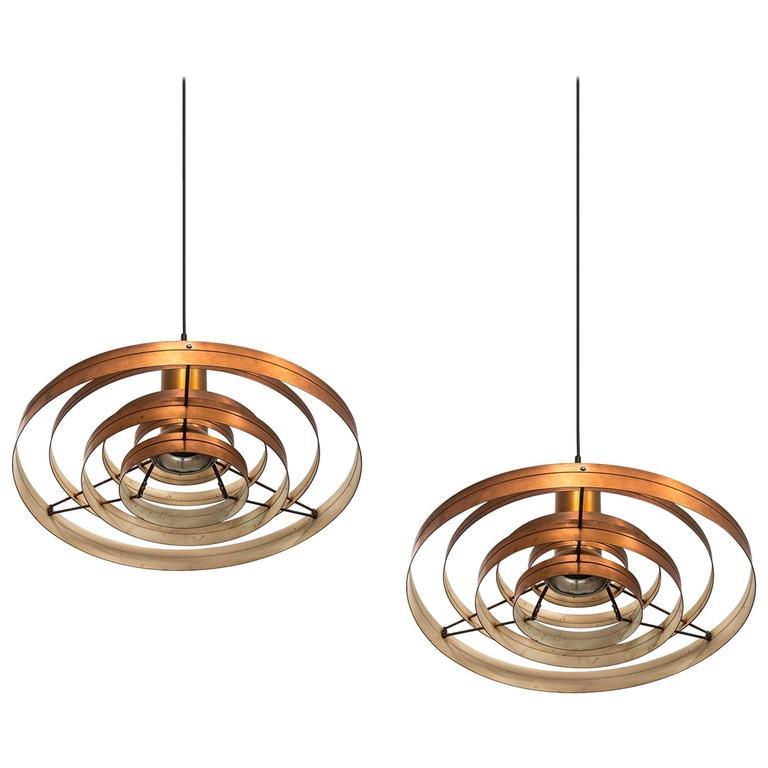 Sophus Frandsen Ceiling Lamps Model Fibonacci by Fog & Mørup in Denmark