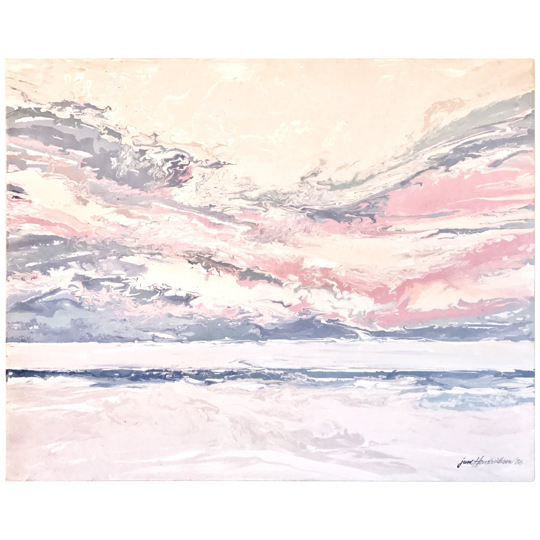 June Hendrickson Oil Painting, USA