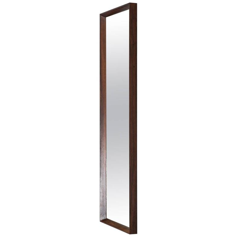 Rosewood Mirror Produced in Denmark