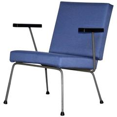 1401 Lounge Chair by Wim Rietveld and A.R. Cordemeyer for Gispen, Dutch Design 1