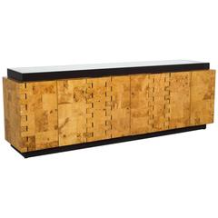 Paul Evans City Scape Sideboard in Burlwood