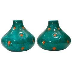 Matching Set of Two Vases by Pucci Umbertide, 1952