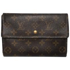LV Louis Vuitton Vintage Wallet and Credit Card Holder Case, From France