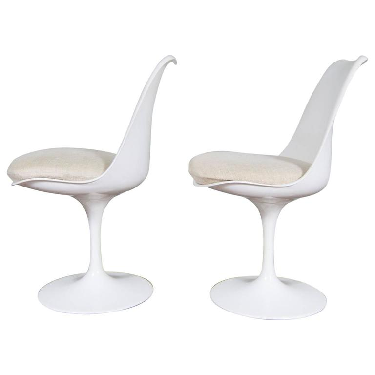 Vintage Eero Saarinen Tulip Chair Designed In The 1950s