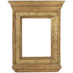 Italian Renaissance Style Frame Mounted as Mirror, Italy, Late 19th Century