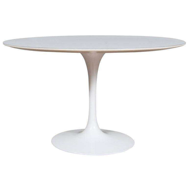 Vintage Eero Saarinen Tulip Coffee Table Designed In The 1950s At 1stdibs