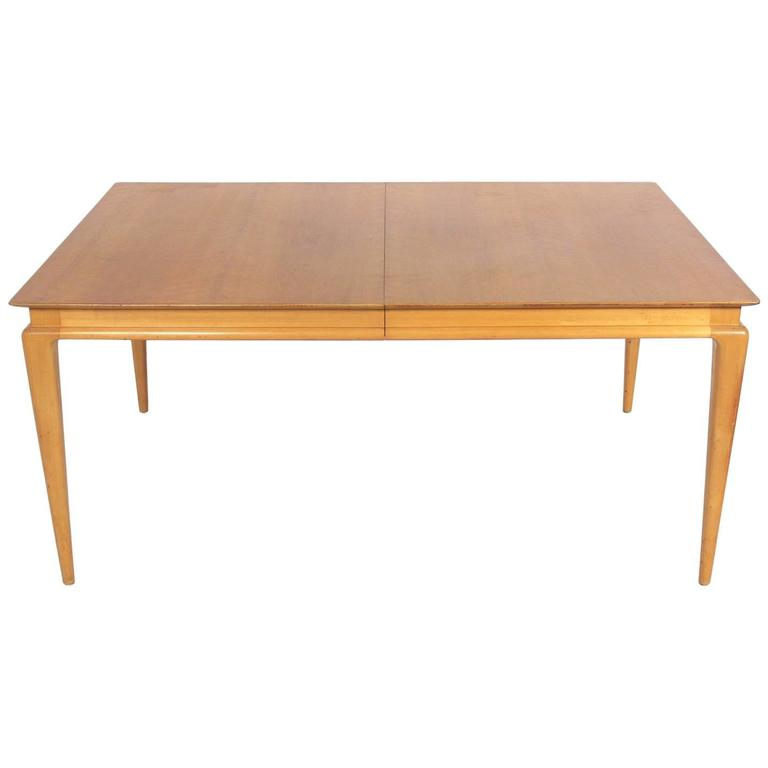 Swedish Mid Century Modern Dining Table For Sale at 1stdibs