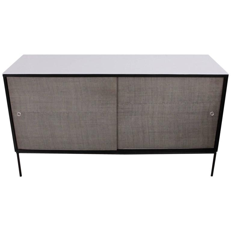 Paul McCobb Planner Group Credenza with Vitrolite Top for Winchendon