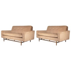 Harvey Probber, Pair of Sofas, 1940s