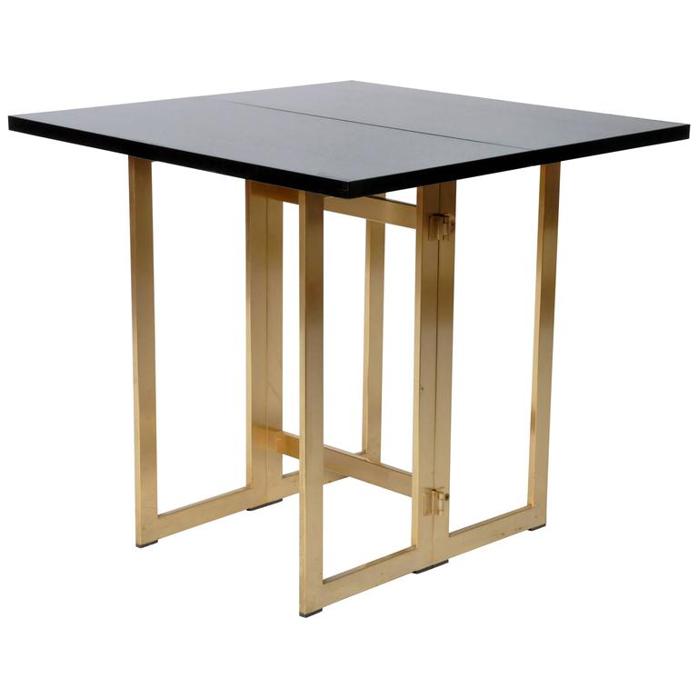 table retractable console. Black Bedroom Furniture Sets. Home Design Ideas