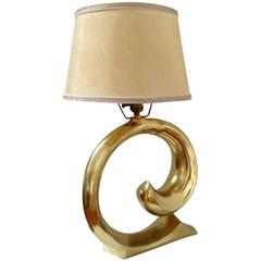 Pierre Cardin Brass Lamp