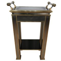 Mastercraft Brass Tray Table