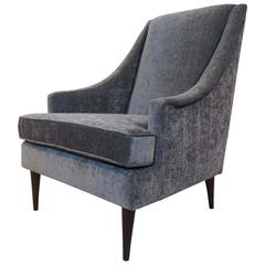 Milo Baughman High Back Armchair
