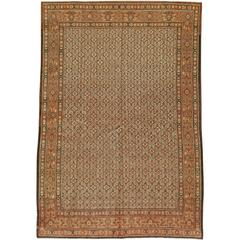 Vintage Persian Mashad Rug