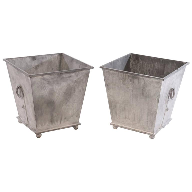 Pair of Regency Style Planters For Sale