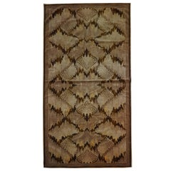 Rare & Large Art Deco Amsterdamse School Rug / Table Cloth / Sofa Cloth 'Trijp'