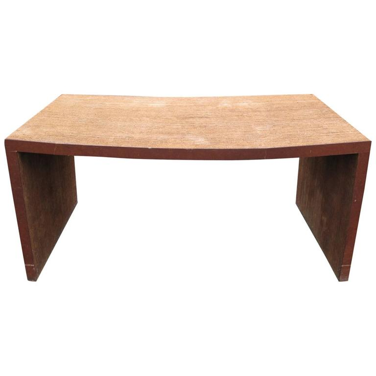 Frank Gehry Easy Edges Cardboard Desk 1972 For Sale At