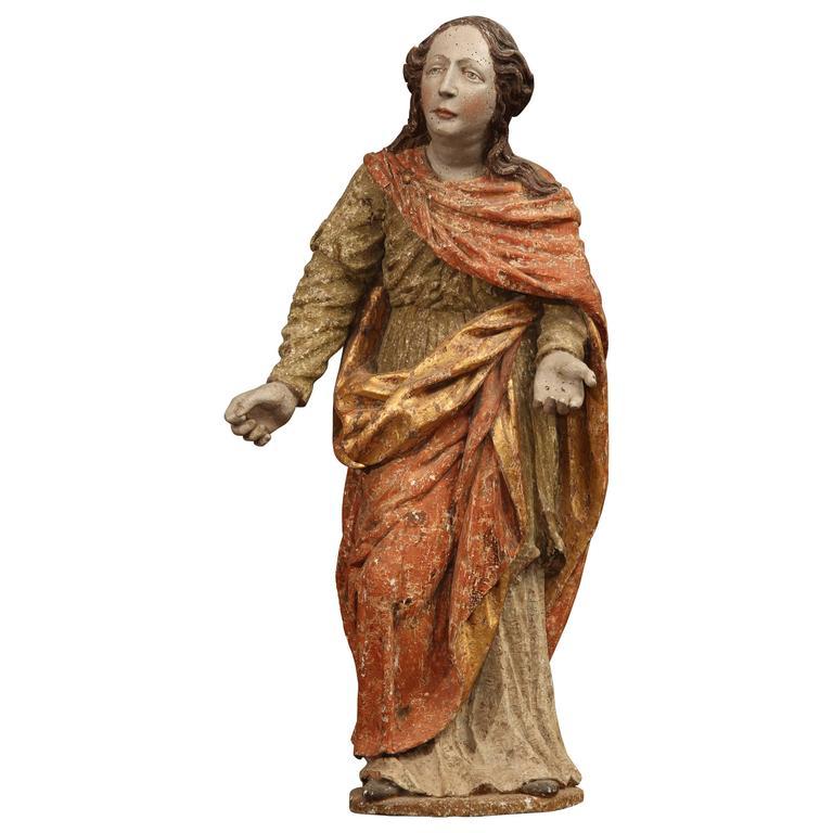 18th Century Italian Saint For Sale