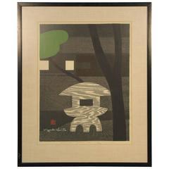 Kiyoshi Saito Woodblock Framed Print