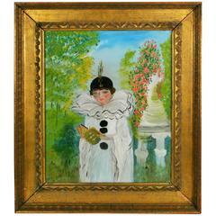 Pierrot Painting
