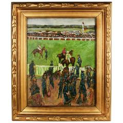 Day at the Races Painting