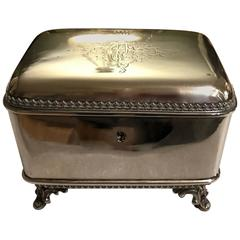 Austrian 900 Silver Table Box